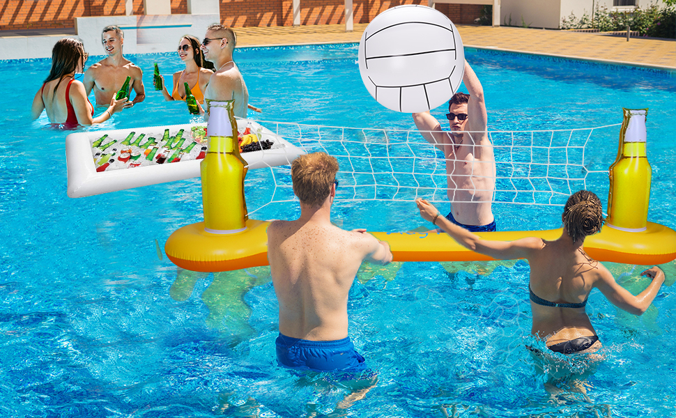 inflatable pool games