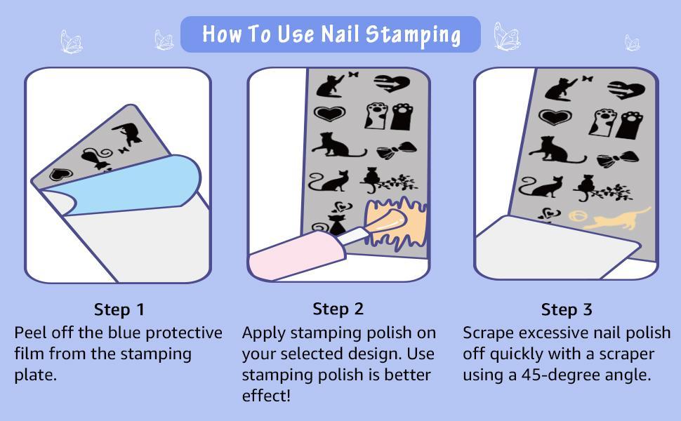 steps for nail art