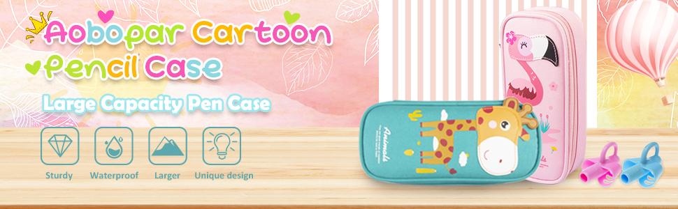 cartoon pencil case