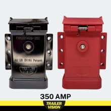 350 amp anderson cover connector plug black red LED indicator trucks