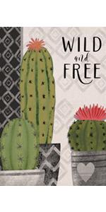 Hzppyz Spring Summer Cactus Pot Tropical Geometric Garden Flag