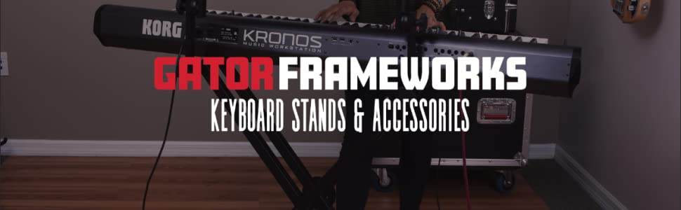 Keyboard Stands and Accessories Banner