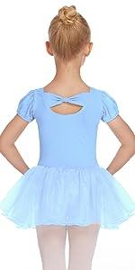 Girl tutu ballet leotard dress