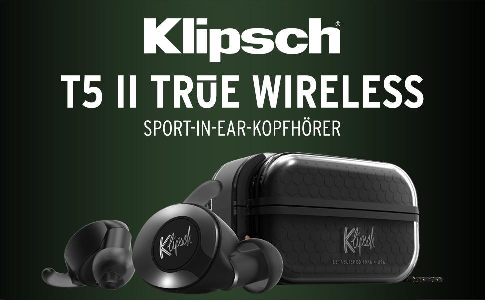 T5 II True Wireless Sport-In-Ear-Kopfhörer