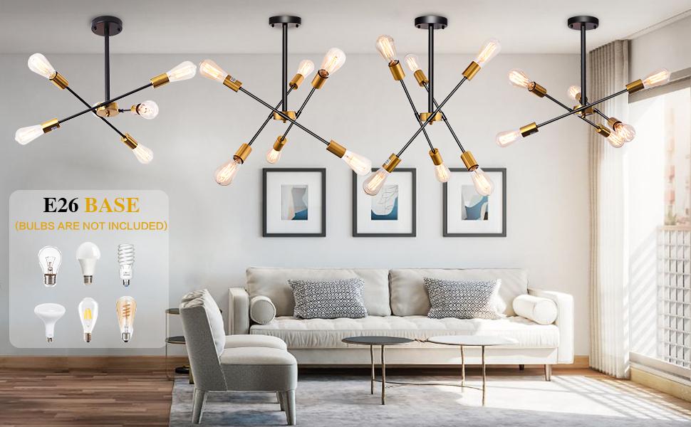 chandelier light fixtures 6 lights