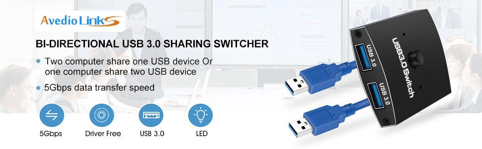 bidirectional sharing switch