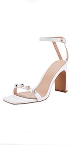 Women's Rhinestone Heels Sandals
