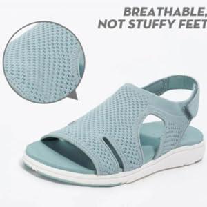 breathable ,notstuffy feet