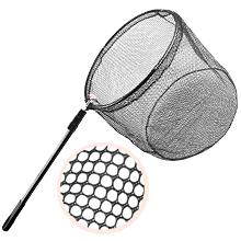 Our fishing net with high toughness nylon material, hexagonal network