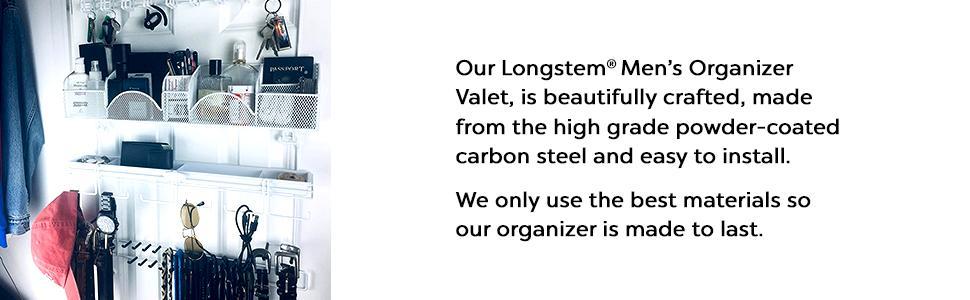 Longstem Men's Organizer Valet