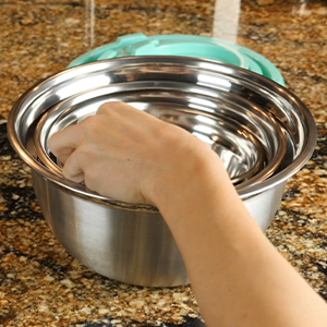 Stainless Steel Mixing Bowls nested
