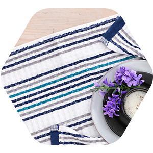 kitchen, tea, stripe, check, popcorn, weave, dish, towel, herringbone, multipurpose, 15x26
