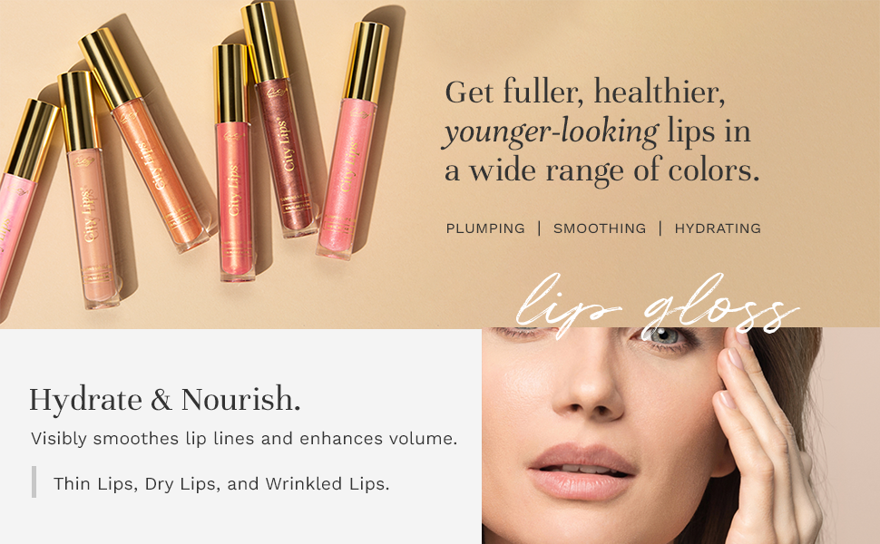 get fuller, healthier, younger-looking lips in a wide range of colors.