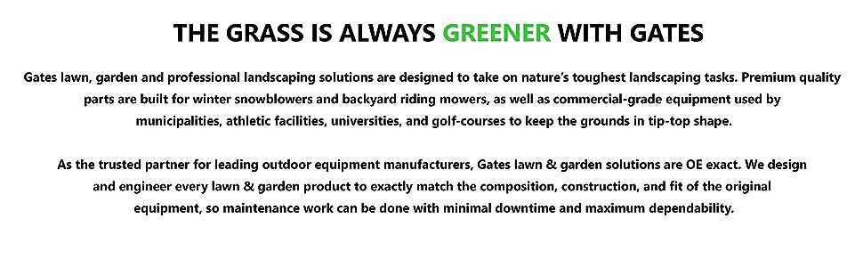 Greener with Gates