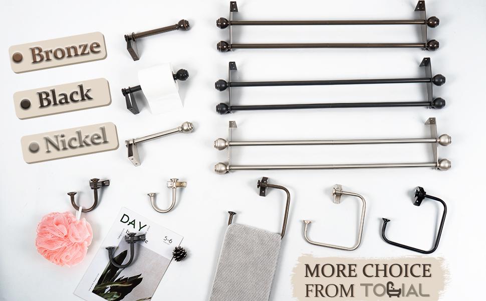 TONIAL 4 Pieces Bathroom Hardware Set