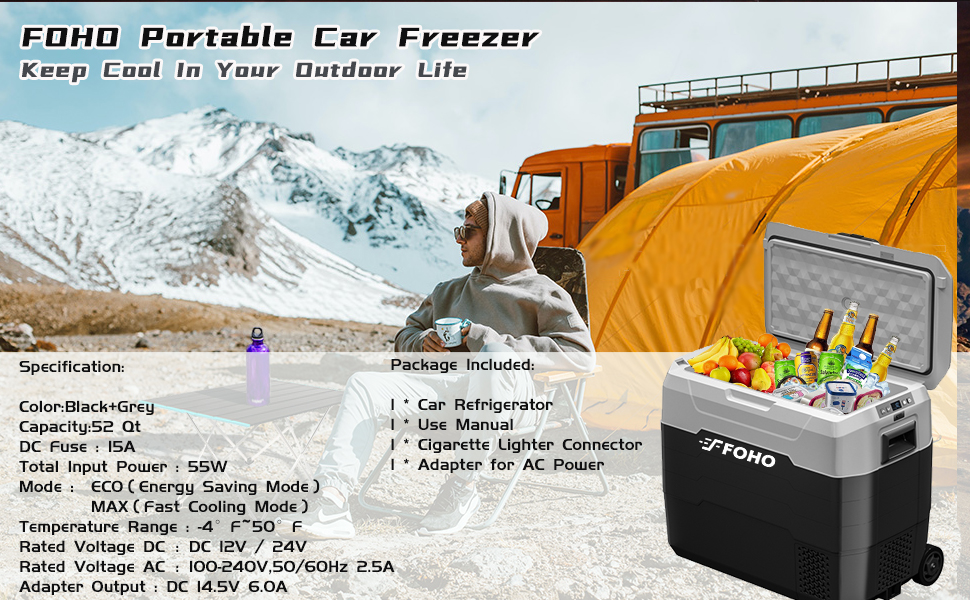 Portable Car Freezer
