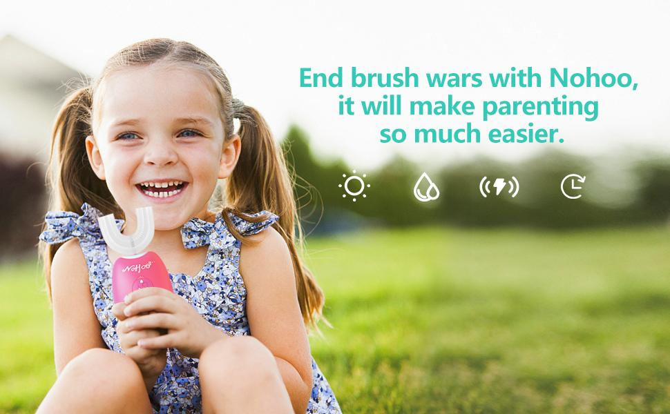 End brush wars with Nohoo, it will make parenting so much easier.