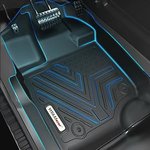 Custom Fit Car Floor Liners fit for Floor Liners for 2015-2021 Ford F-150 SuperCrew Cab