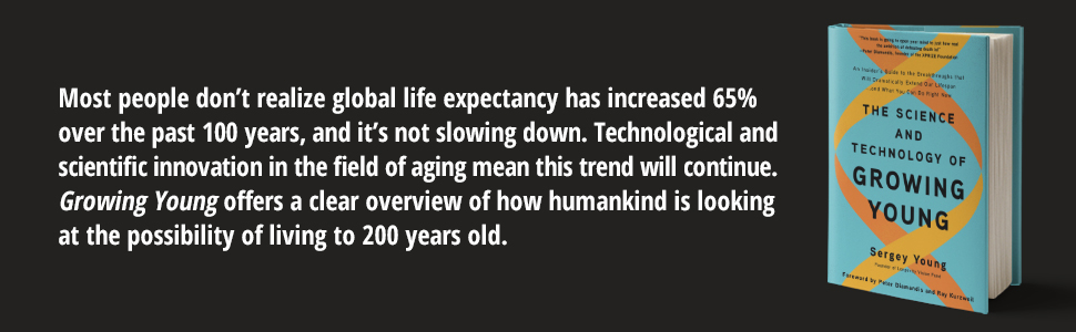 Global life expectancy has increased 65% over the past 100 years