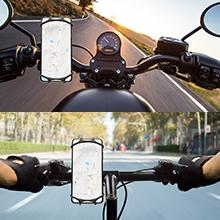 Mobile phone holder .