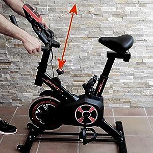 bicicleta de spinning fitfiu, bicicleta de spinning gridinlux, bicicleta estática