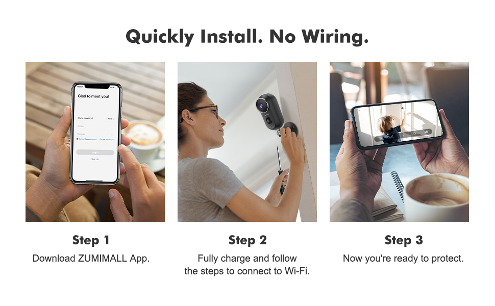 wireless cameras for home security