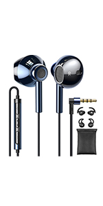 3.5mm Wired Earbuds Hi-Res Audio C2 SB