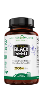 black seed oil cumin nigella sativa kalonji organic vegan non gmo mother nature organics madre