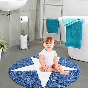 child kid gift bathmat floor sitting