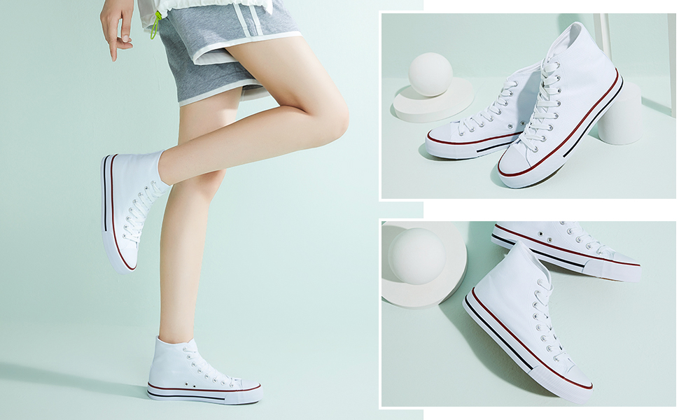 High top sneakers for women