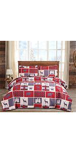 cabin quilt