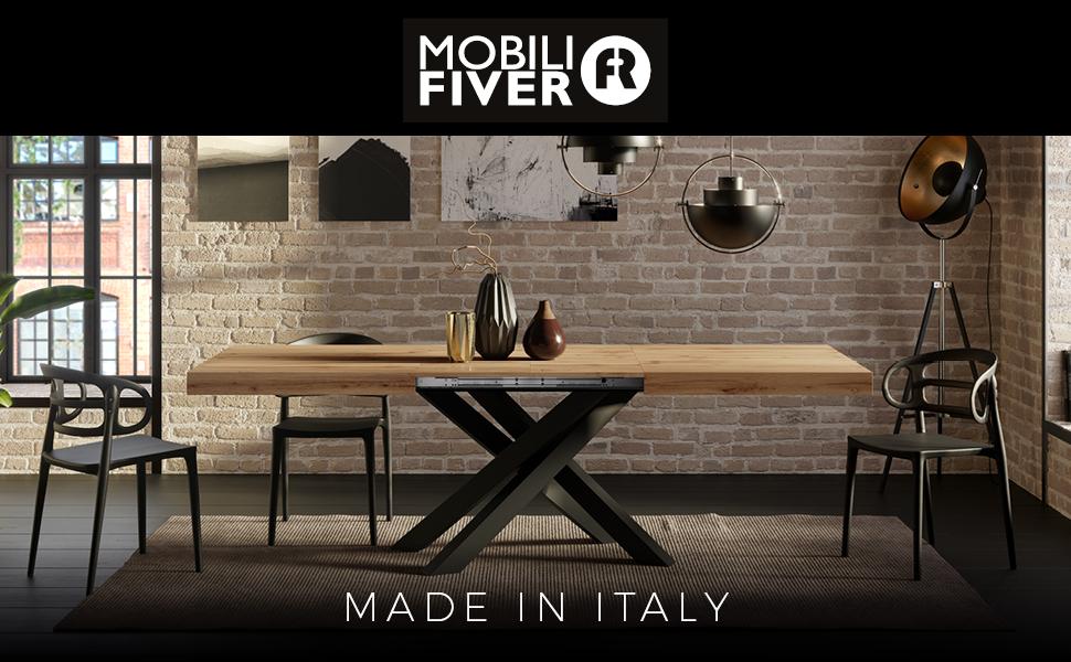 Meubles Fiver – Fabriqué en Italie.