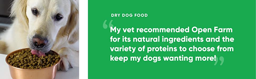 Vet recommended natural ingredients made in usa puppy dog food clean protein and vegetables