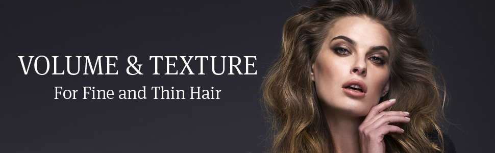 volume texture fine thin hair shampoo conditioner dry damaged saphira treatment healing