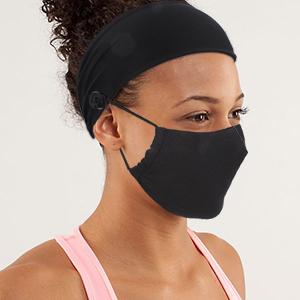 face cover headband