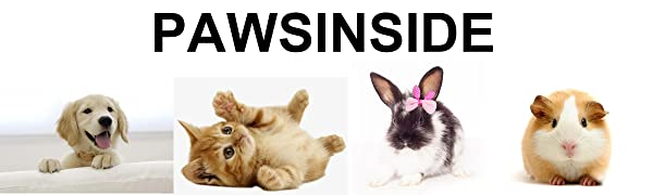 PAWSINSIDE Pet Products for Dogs, Cats and Small Animals