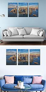 manhatta new york city gdp barbor metropolis wallstreet aerial bay birdseye center cityscape