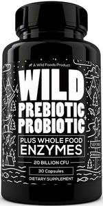 prebiotics and probiotic with whole food digestive enzymes