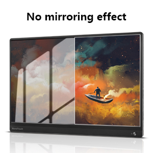 no mirroring efffect