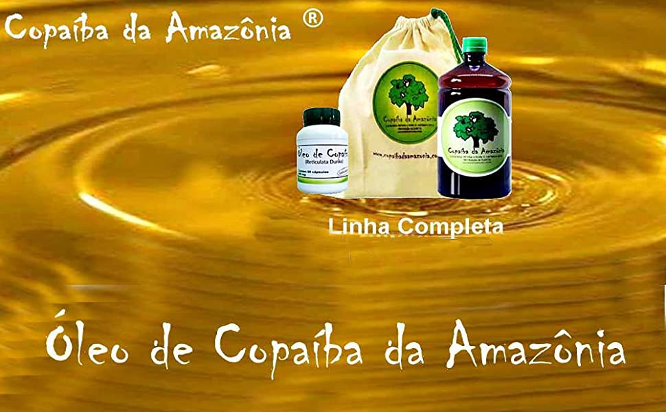 Óleo de Copaíba da Amazônia