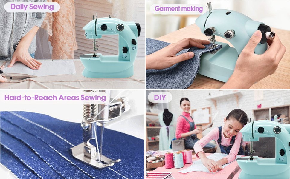 Multiple sewing uses
