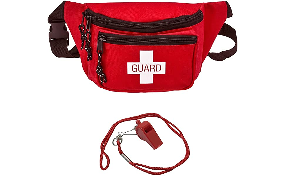 ASA Techmed Lifeguard Fanny Pack with Whistle