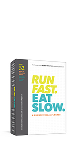 Run Fast. Eat Slow. Meal Planner.