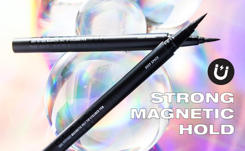 glamnetic deep space magnetic eyeliner pen