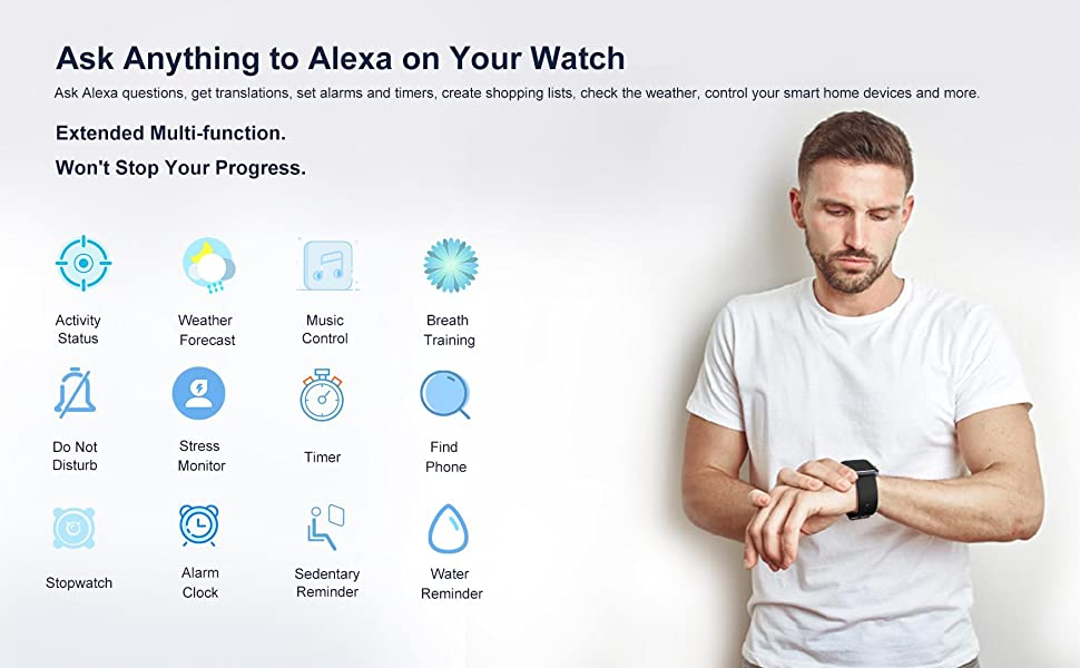 Alexa Smart Watch