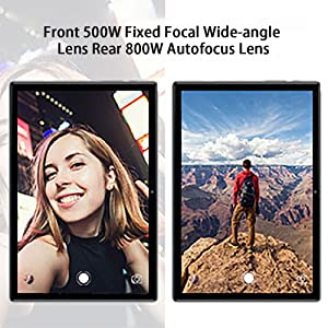 Front 500W Fixed Focal Wide-angle Lens Rear 800W Autofocus Lens