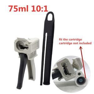 Bigbong 10: 1 75ml Cartridges AB Caulking Gun Adhesive Dispensers Manual Applicator Dispensing Gun