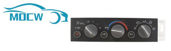 AC Heater Climate Control Panel Module HVAC Control Module w/Rear Window Defogger Switch