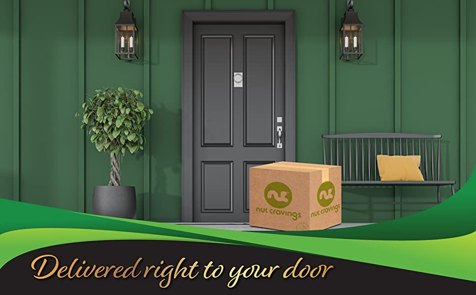 Delivered right to your door