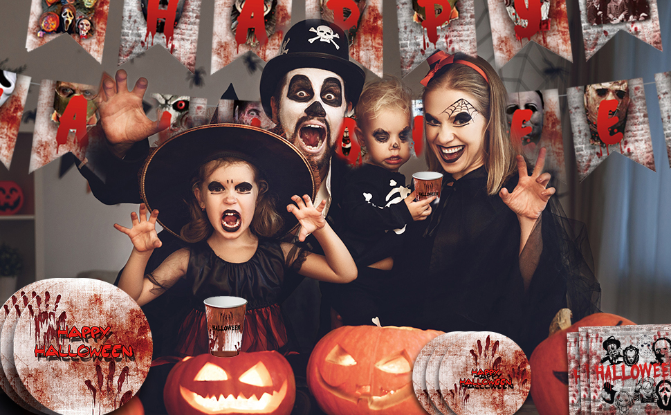 Happy Halloween Party Decoration
